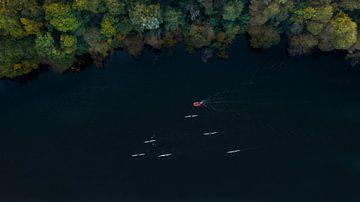 Roeiers op een Kanaal van Kelvin Middelink