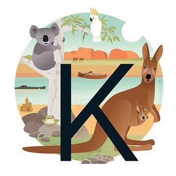 K: Koala en Kangoeroes van Hannahland .