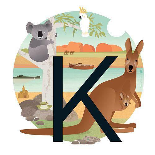 K: Koala en Kangoeroes