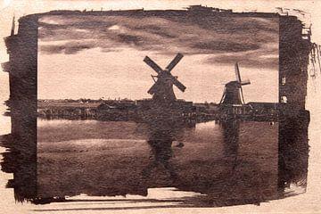 Zaanse Schans. van M. van Oostrum