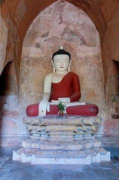 Nyaung-U Township: Sulamani tempel van Maarten Verhees