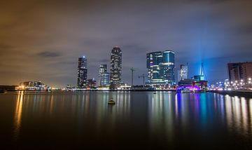 Skyline Rotterdam van Jolanda Wisselo