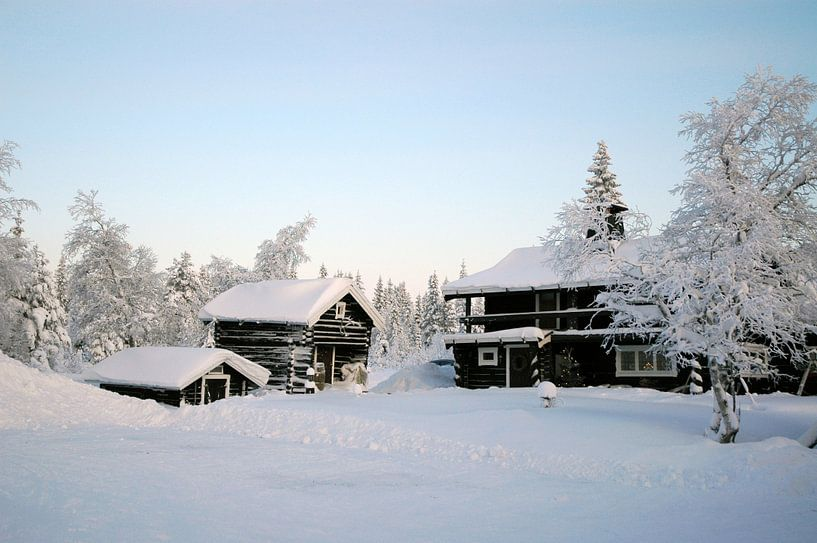 Gammelgården Zweden van Barbara Koppe