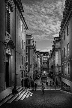 Baixa, Lissabon von Jens Korte