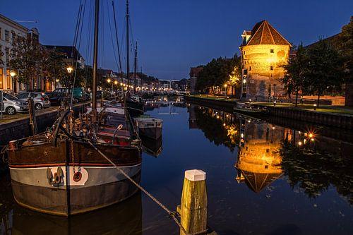 Een mooie avond in Zwolle / Lovely evening in the Dutch city Zwolle van