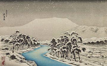 Bertg Ibuki im Schnee - Hashiguchi Goyo, 1920 von Atelier Liesjes