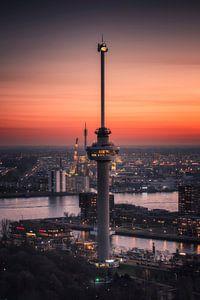 Der Euromast in Rotterdam von Anthony Malefijt