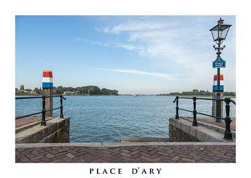 Place d'Ary in Dordrecht van Fotografie Jeronimo