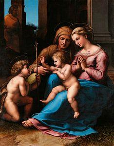Die Madonna der göttlichen Liebe, Rafaël
