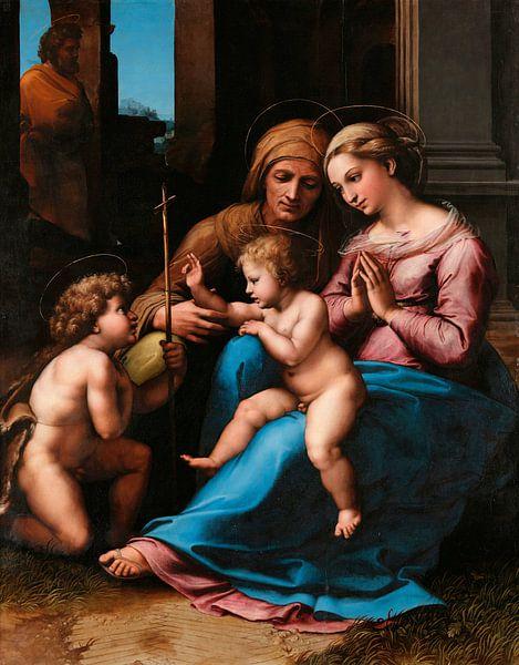 Die Madonna der göttlichen Liebe, Rafaël von Meesterlijcke Meesters