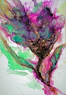 Violetter Traum von Ineke de Rijk
