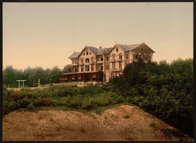 Hotel Berg en Dal, Nijmegen van Vintage Afbeeldingen