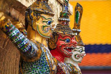 Wachters Grand Palace Bangkok, Wat Phra Kaew van Jeroen Langeveld, MrLangeveldPhoto