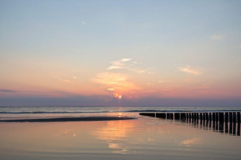 Sunset.. van Miranda van Hulst