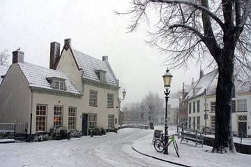 Winter en sneeuw in historisch Amersfoort sur Watze D. de Haan