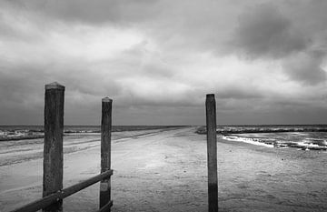 De haven van Noordpolderzijl van Bo Scheeringa