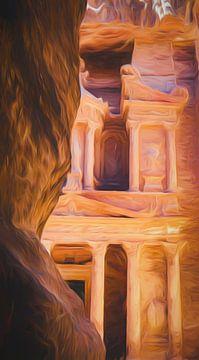 Le trésor de Petra sur Joris Pannemans - Loris Photography