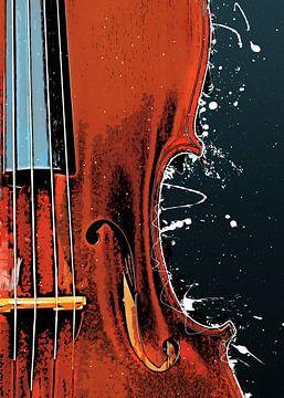 Vioolmuziekkunst #violin van JBJart Justyna Jaszke