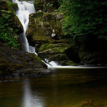 Aira Force Waterfall van Koos Mast