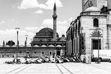Moskee in Konya von Joan le Poole