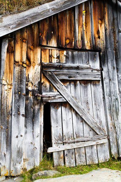 Verlaten hut