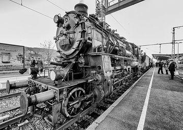 Dampflokomotive nach Titisee von Wim Mourits