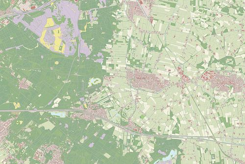 Kaart vanWoudenberg