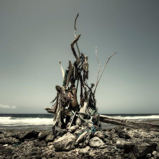 Kunstwerk van wrakhout van Keesnan Dogger Fotografie