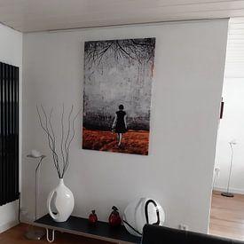 Klantfoto: A NEW DAY DAWNS van db Waterman, op canvas