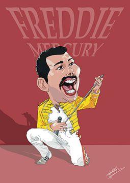 Freddie Mercury van NoëlArts