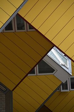 Kubus-Häuser Rotterdam von Marieke van der Hoek-Vijfvinkel