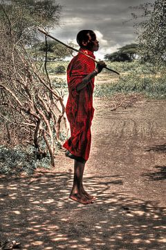 Jumping Masai von BL Photography