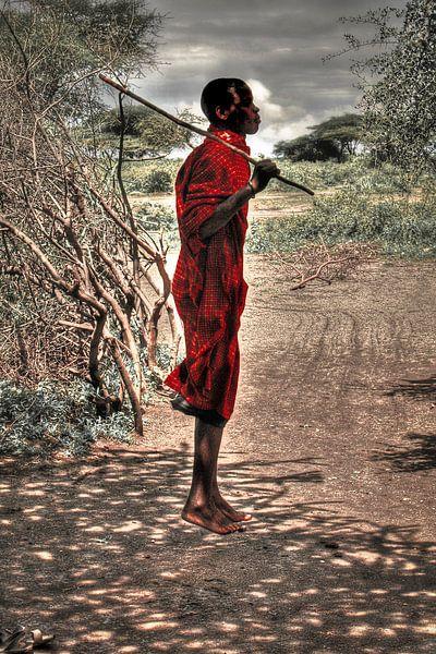 Jumping Masai van BL Photography
