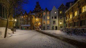 Sint Stevenskerkhof, Nijmegen winter editie van Mario Visser