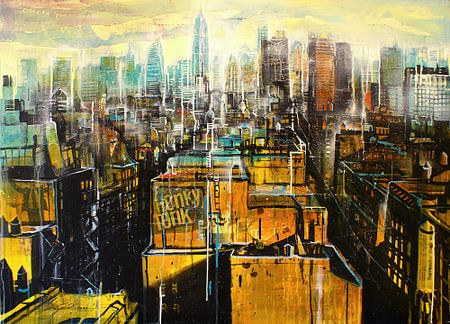 New York, East Village van Johann Pickl