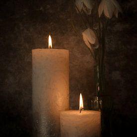 Kerzenlicht von Elly van Veen