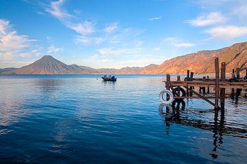 Guatemala: Meer van Atitlán (Panajachel) von Maarten Verhees