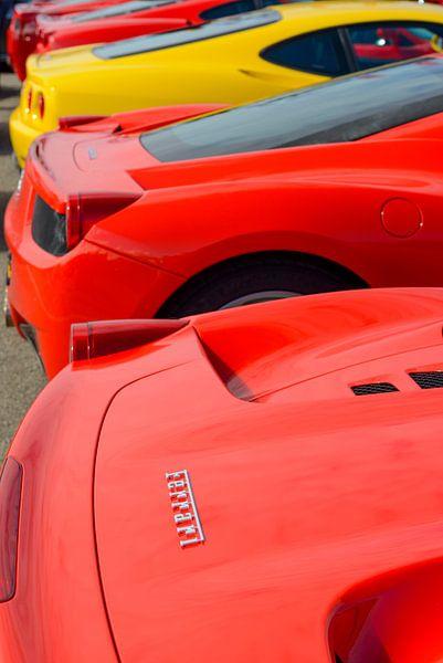 Ferrari van Sjoerd van der Wal