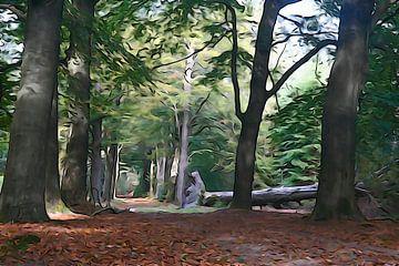 Waar de boom valt zo zal hij liggen. van Arie Visser