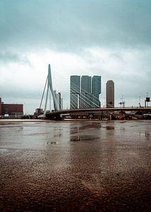 Erasmusbrug Rotterdam van Thijs van Beusekom