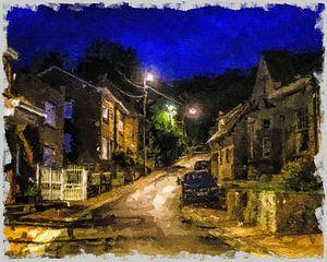 Ardennen Dorf