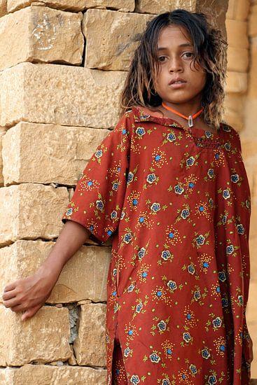 Indian Girl van Gert-Jan Siesling