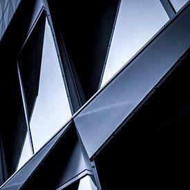 Abstract gebouw van Yoni van Haarlem