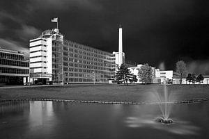 Van Nelle Fabriek zwart wit