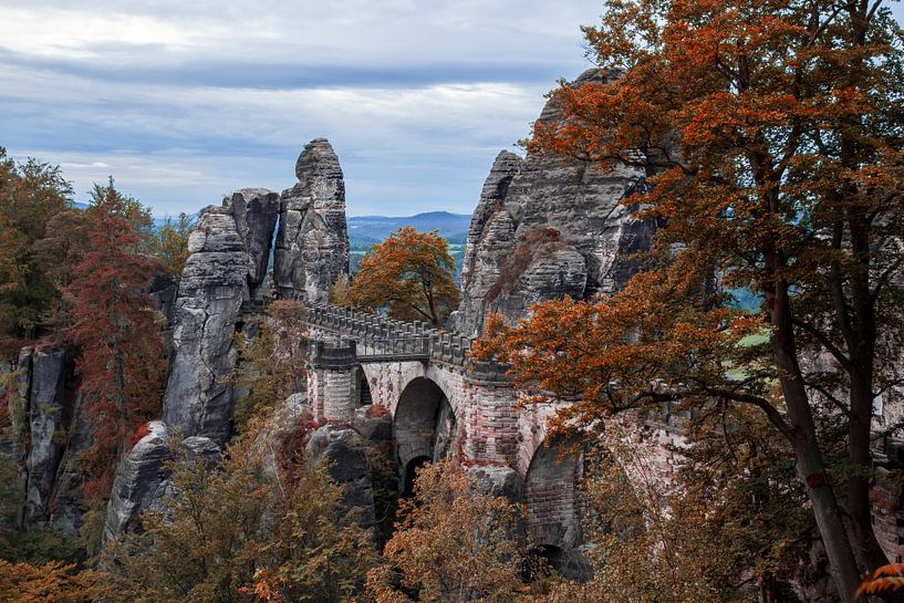 Elbsandsteingebirge von Heiko Lehmann