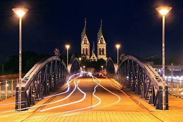 Wiwilibrücke Freiburg van