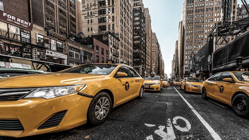 Streetfotografie in New York van Kurt Krause