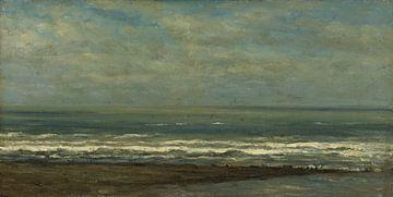 Zeegezicht bij Heijst, Willem Roelofs