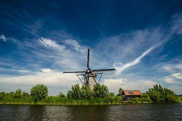 Overwaard n°6 - Moulin à vent à Kinderdijk