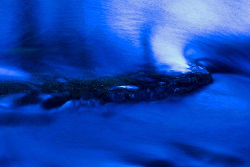 blauwe beek van Ronald Jansen